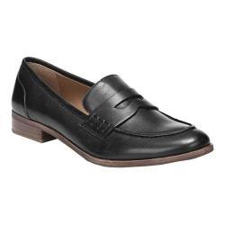 Women's Franco Sarto Jolette Penny Loafer Black Leather