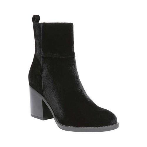 Women's Franco Sarto Owens Bootie Black Fabric