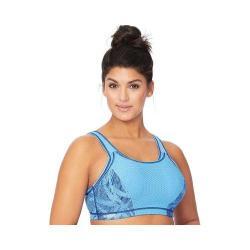 Women's Glamorise Adjustable Sport Bra Blue (More options available)
