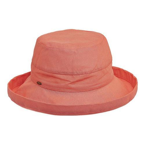 Women's Scala LC8 Medium Brim Hat Grapefruit