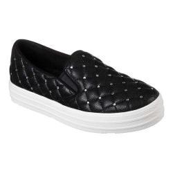 Women's Skechers Double Up Shoe-vet Sneaker Black