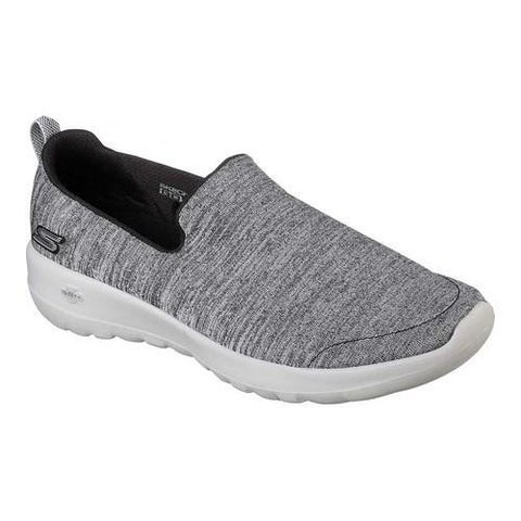 Women's Skechers GOwalk Joy Enchant Slip-On Walking Shoe Black/Gray