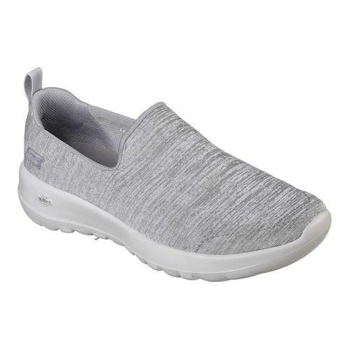 Women's Skechers GOwalk Joy Enchant Slip-On Walking Shoe Gray