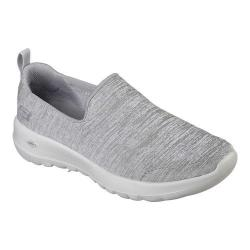 Women's Skechers GOwalk Joy Enchant Slip-On Walking Shoe Gray - Thumbnail 0