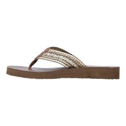 3a3e8c7c13ca ... Thumbnail Women  x27 s Skechers Meditation Zen Summer Thong Sandal  Chocolate