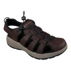 Men's Skechers Melbo Journeyman 2 Fisherman Sandal Brown