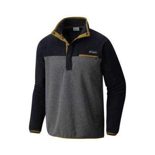 d6c1f54b366 Shop Men s Columbia Mountain Side Fleece Pullover Jacket Graphite Heather -  Free Shipping On Orders Over  45 - Overstock.com - 19437295