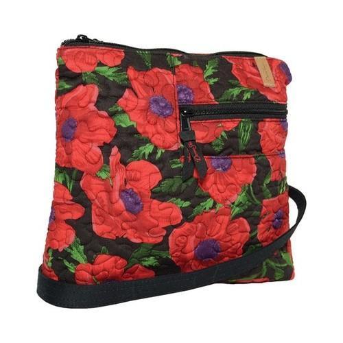 Women's Donna Sharp Becki Bag Red Poppy (One Size) (cotton)