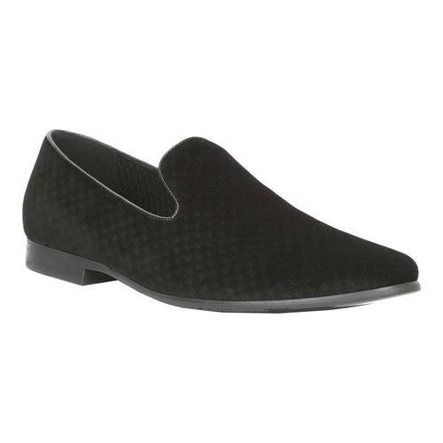 93c012e0d015 Shop Giorgio Brutini Men s Cloak Smoking Slipper Black Velvet - Free  Shipping Today - Overstock - 19437524