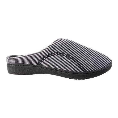8d8b618b8 Shop Women s Isotoner Athena Hoodback Slipper Black Jersey - On Sale - Free  Shipping On Orders Over  45 - Overstock.com - 19437527