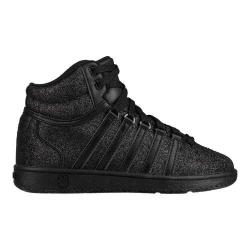Children's K-Swiss Classic VN Mid Sneaker Black Sparkle (More options available)