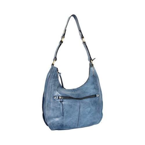 Women X27 S Nino Bossi Delina Leather Hobo Handbag Denim