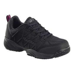 Women's Nautilus N2158 Composite Toe Work Shoe Black Nylon Coated Mesh/Synthetic Leather