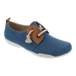 Women's Ros Hommerson Calypso Sneaker Blue Denim Canvas