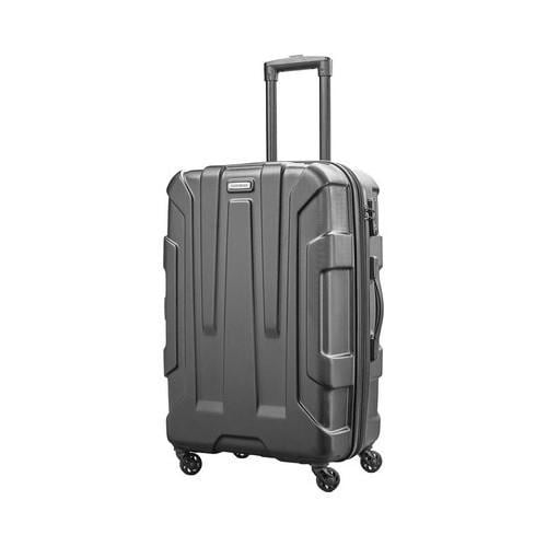 76e76d96d3e8 Shop Samsonite Centric 24in Upright Spinner Black - Free Shipping Today -  Overstock.com - 19437727
