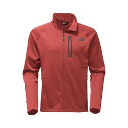 Men's The North Face Canyonlands Full Zip Pullover Cardinal Red Heather