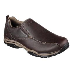 Men's Skechers Relaxed Fit Rovato Venten Loafer Dark Brown