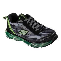 Boys' Skechers Skech-Air Mega Sneaker Black/Lime