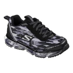 Boys' Skechers Skech-Air Mega Sneaker Black/Silver