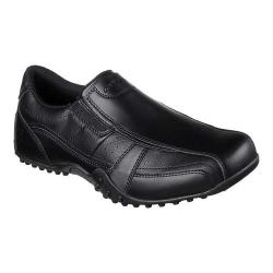 Men's Skechers Work Relaxed Fit Elston Kasari Slip Resistant Shoe Black