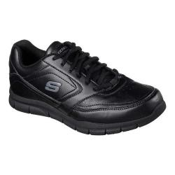 Men's Skechers Work Relaxed Fit Nampa Slip Resistant Sneaker Black