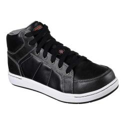 Men's Skechers Work Watab Stirling Steel Toe High Top Black