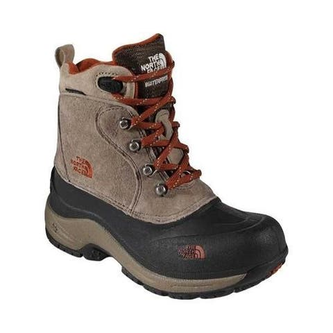 Children's The North Face Chilkat Lace II Boot Mud Pack Brown/Sienna Orange