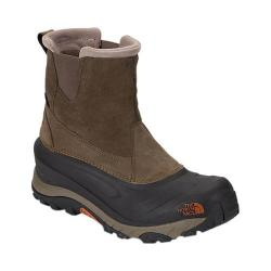 Men's The North Face Chilkat III Pull-On Snow Boot Mudpack Brown/Bombay Orange