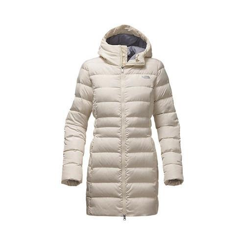 Shop Women s The North Face Gotham Parka II Vintage White - Free Shipping  Today - Overstock - 19417635 c3ec073e3