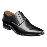 Men's Florsheim Postino Plain Toe Oxford Black Smooth Leather