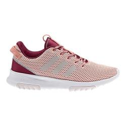 Women's adidas NEO Cloudfoam Racer TR Running Shoe Trace Pink F17/Pearl Grey S14/Mystery Ruby F17