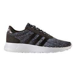 Women's adidas NEO Lite Racer Sneaker Core Black/Core Black/FTWR White Print