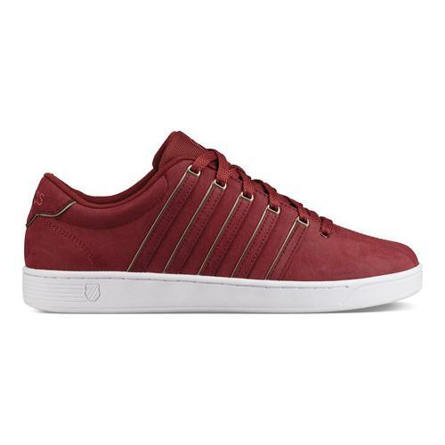 f72686e5e597e7 Shop Men's K-Swiss Court Pro II SP P CMF Sneaker Firebrick/White - Free  Shipping Today - Overstock - 19461529