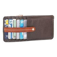 Women's Nino Bossi Carley Card Holder/Wallet Chocolate
