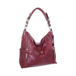 Women's Nino Bossi Jazlyn Shoulder Bag Plum