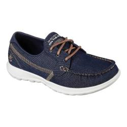 Women's Skechers GOwalk Lite Shore Boat Shoe Denim (2 options available)