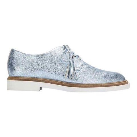 Women's Kenneth Cole New York Annie Oxford Blue Leather