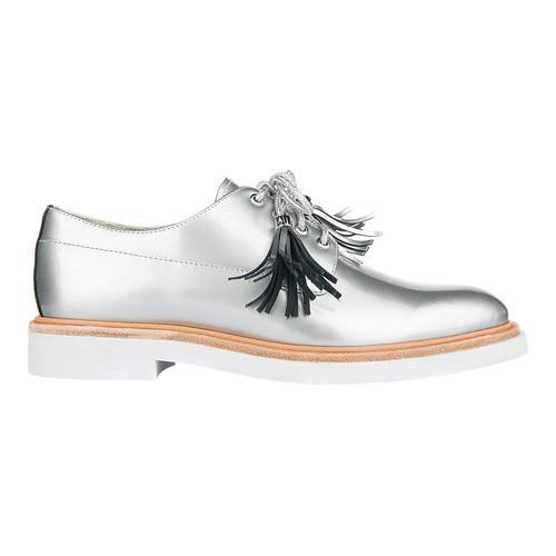 Women's Kenneth Cole New York Annie Oxford Silver Patent Leather
