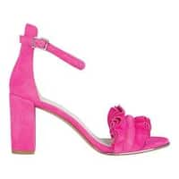 Women's Kenneth Cole New York Langley Ankle Strap Sandal Bubblegum Suede