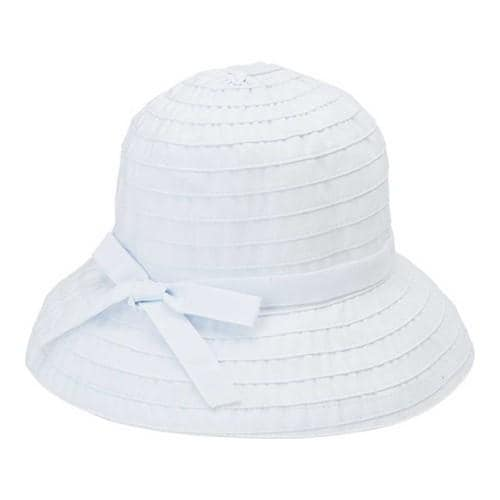 Shop Women s San Diego Hat Company Ribbon Bucket Hat RBS299 White ... 6b220ecccc1c