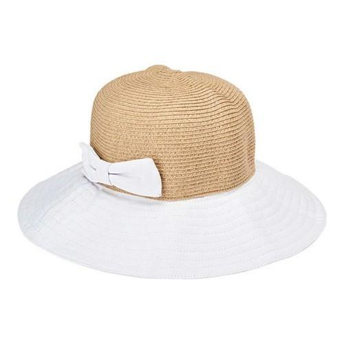 27b764cfc9dec5 Shop Women's San Diego Hat Company Ultrabraid Packable Sun Hat with Bow  UBL6816 White - Free Shipping On Orders Over $45 - Overstock.com - 19474036