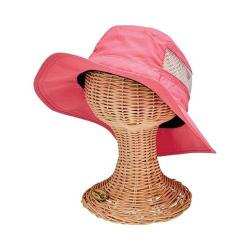 Girls' San Diego Hat Company Solid Outdoor Bucket Hat CTK4202 Pink