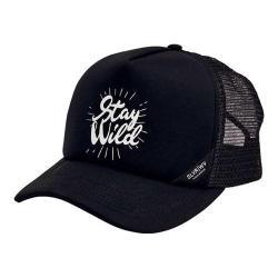 San Diego Hat Company Stay Wild Baseball Cap SLW3576 Black