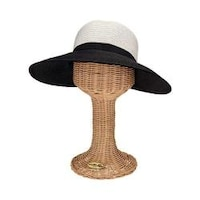 f1dfebca5e2 Women s San Diego Hat Company Ultrabraid Face Saver Sun Hat UBM4442  Black White