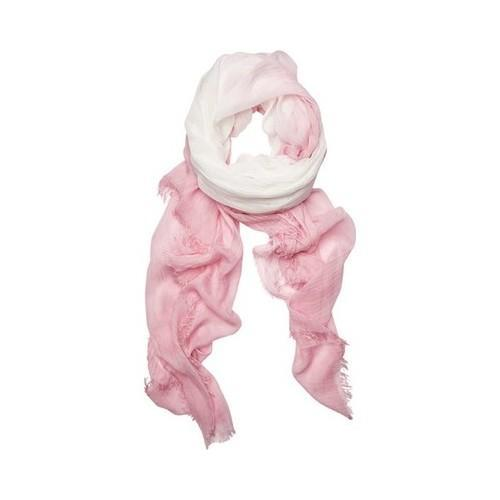 Women's San Diego Hat Company Woven Ombre Scarf with Fringe BSS1719 Pink