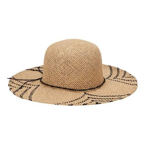 Shop San Diego Hat Company Natural Black Round Crown Woven Paper Sun Brim  Hat - Free Shipping On Orders Over  45 - Overstock.com - 19473763 4cd23b8d3df4