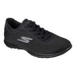 Women's Skechers GOwalk Lite Impulse Sneaker Black/Black