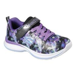 Girls' Skechers Jumpin Jams Sneaker Black/Purple