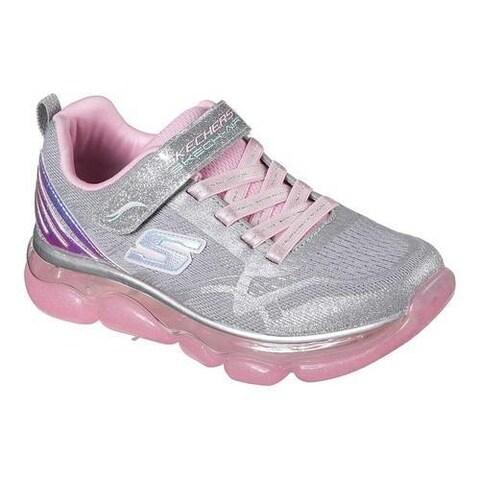 Girls' Skechers Skech-Air Radiant Rise N Shine Sneaker Gray/Pink