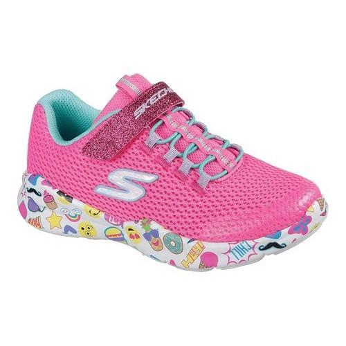 a23aa480d510e Shop Girls' Skechers Street Squad Emo Pop Sneaker Neon Pink/Multi - Free  Shipping On Orders Over $45 - Overstock - 19474311